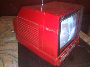 TOSHIBA - Mini TV i Radio 12v