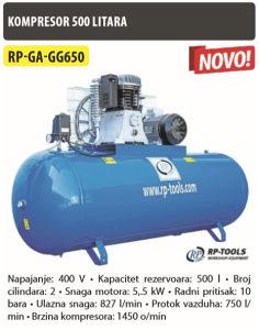 KOMPRESOR 500L RP-GA-GG650