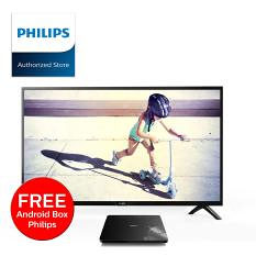 """Philips 4K 58"""" Smart WiFi ANDROID KOMPLET (TV + Box)"""