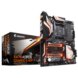 Gigabyte X470 Aorus Gaming 5 WiFi RGB AM4 Ryzen