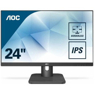 "AOC Monitor LED 24E1Q IPS 23.8"" FHD/5 ms/VGA, DP, HDMI"