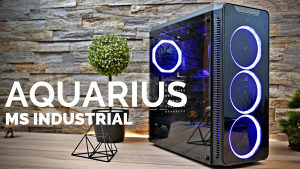 Ms Aquarius Pro RGB Gaming kuciste