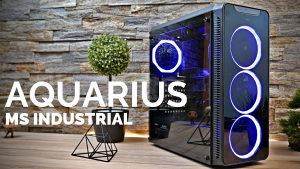 Ms Aquarius Pro RGB Gaming kuciste