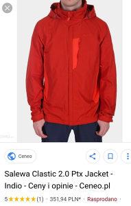 Salewa clastic 2.0 PTX hardshell jakna