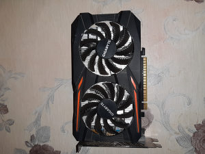 Gigabyte Windforce OC GTX1050 / DDR5