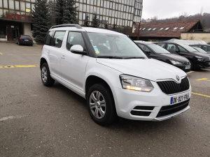 Škoda Yeti 2.0 tdi 2014.do registracije