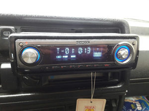 Auto radio CD player MP3 Sony Xpod i Kenwood