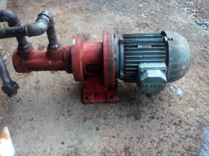 Pumpa za naftu,ulje i sl. Trofazna 1,1 kW