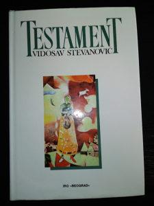 Vidosav Stevanović; Testament