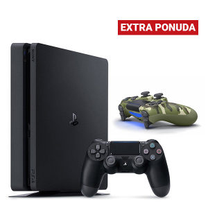 PlayStation 4 500GB Slim F chassis+Dualshock Controller