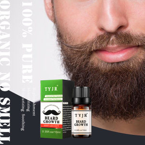 Kapi za rast brade bradu brkove brada prirodni eliksir