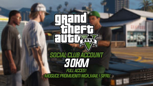 GRAND THEFT AUTO V ACCOUNT FULL ACCESS GTA 5