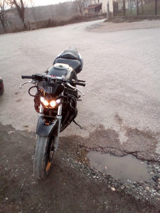Motor suzuki 600f