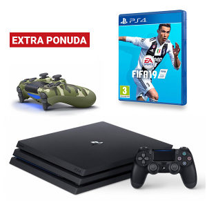 PlayStation 4 Pro 1TB G chassis+DS+FIFA 19