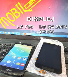 LG F60 display