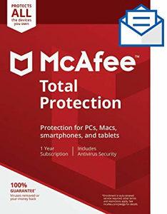 McAfee Total Protection 2019-Originalna licenca 1 PC