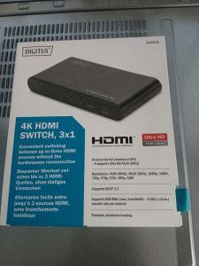 HDMI switch 4K, 3x1
