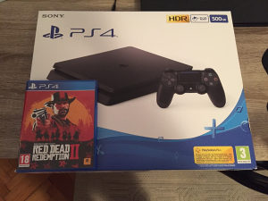 Playstation 4 + Red Dead Redemption 2