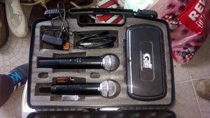 Mikrofon bežični (2 mikrofona u setu) - GATT GWM-70