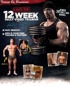 DVD-12 Week Daily Trainer With Kris Gethin