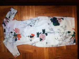 Haljina cvjetna sa elastinom