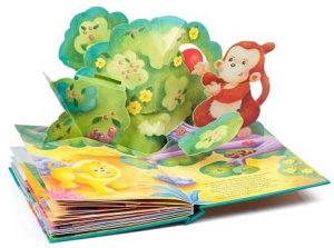 Knjige iskakalice 3D bajke 4 kom