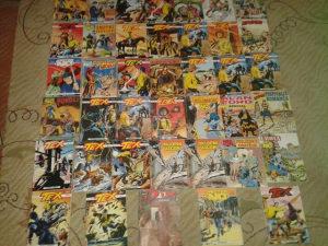 43 stripova romana tex -zagor i ostala raja SAMO 55 KM