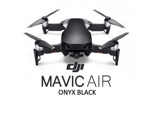 DJI dron MAVIC Air Onyx Black 4K (CRNI), domet 10km