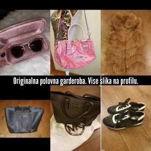 Zenska garderoba. Zenske torbe, cipele,naocale, nakit