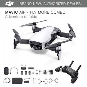 DJI dron MAVIC Air Fly More Combo Arctic White 4K, GPS