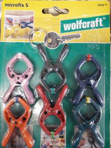 WOLFCRAFT - Opružna stega mini 20mm