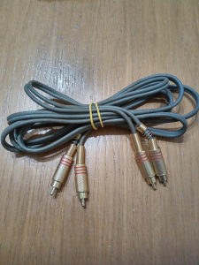 Cinc kablovi pozlaceni