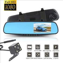 Auto kamera za snimanje saobraćaja + parking kamera