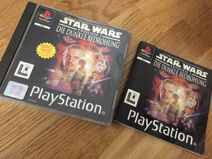 Star wars episode 1 ps1