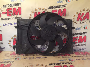 Ventilator hladnjaka mercedes C klassa 203 2.2 CDI KA EM