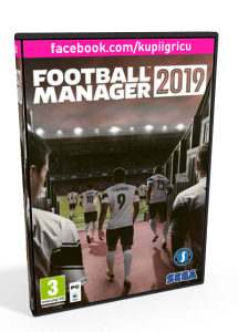 FOOTBALL MANAGER 2019 (Steam Key)