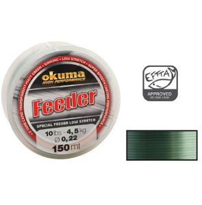 Okuma Feeder 150m 12lb 5.5kg 0.25mm Camo
