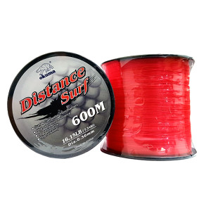 Okuma Distance - Surf Mono Red Orange 16.1lb 0.30mm 600M