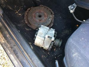 Audi b4 benzin alternator