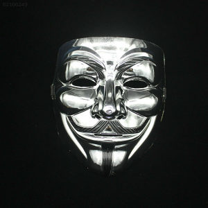 Maska Anonimusi (V for Vendetta) - Srebrne & Zlatne