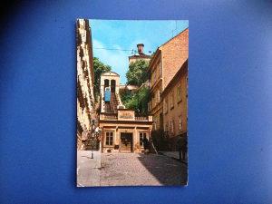 Razglednica ZAGREB--USPINJAČA