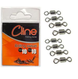 Cline Rolling swivel size 8