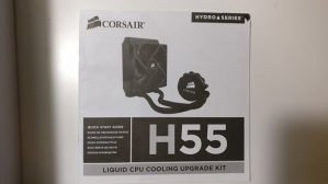 Vodeno hlađenje Corsair Cooling Hydro Series H55
