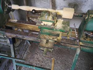Tokarski strug za drvo,stroj, kopirka, moze zamjena