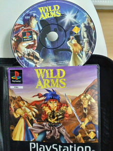 Wild arms ps1 playstation 1 igre igrice