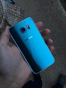 Samsung Galaxy S6 Blue Topaz Tirkizni