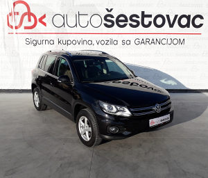 VW TIGUAN 2.0 TDI 4motion Automatic