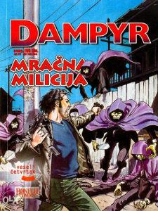 Dampyr 24 - Mračna milicija