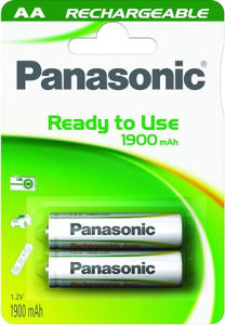 PANASONIC baterije AA HHR-3MVE/2BC punjive