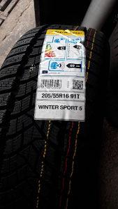 Gume Dunlop Winter sport5 205/55/16